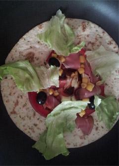 tortilla - palcek