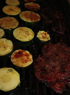 Pyszny obiad z grilla